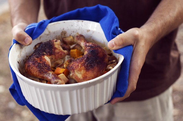 Garlic Roasted Chicken and Vegetables